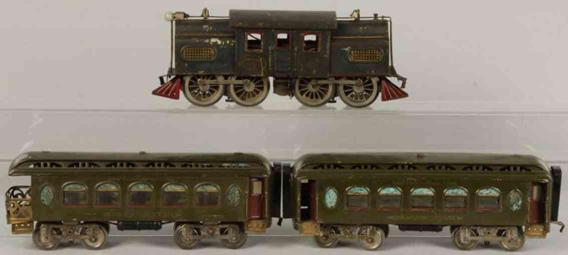 Lionel Personenzug Lokomotive 42 Personenwagen 18 19 Standard Gauge