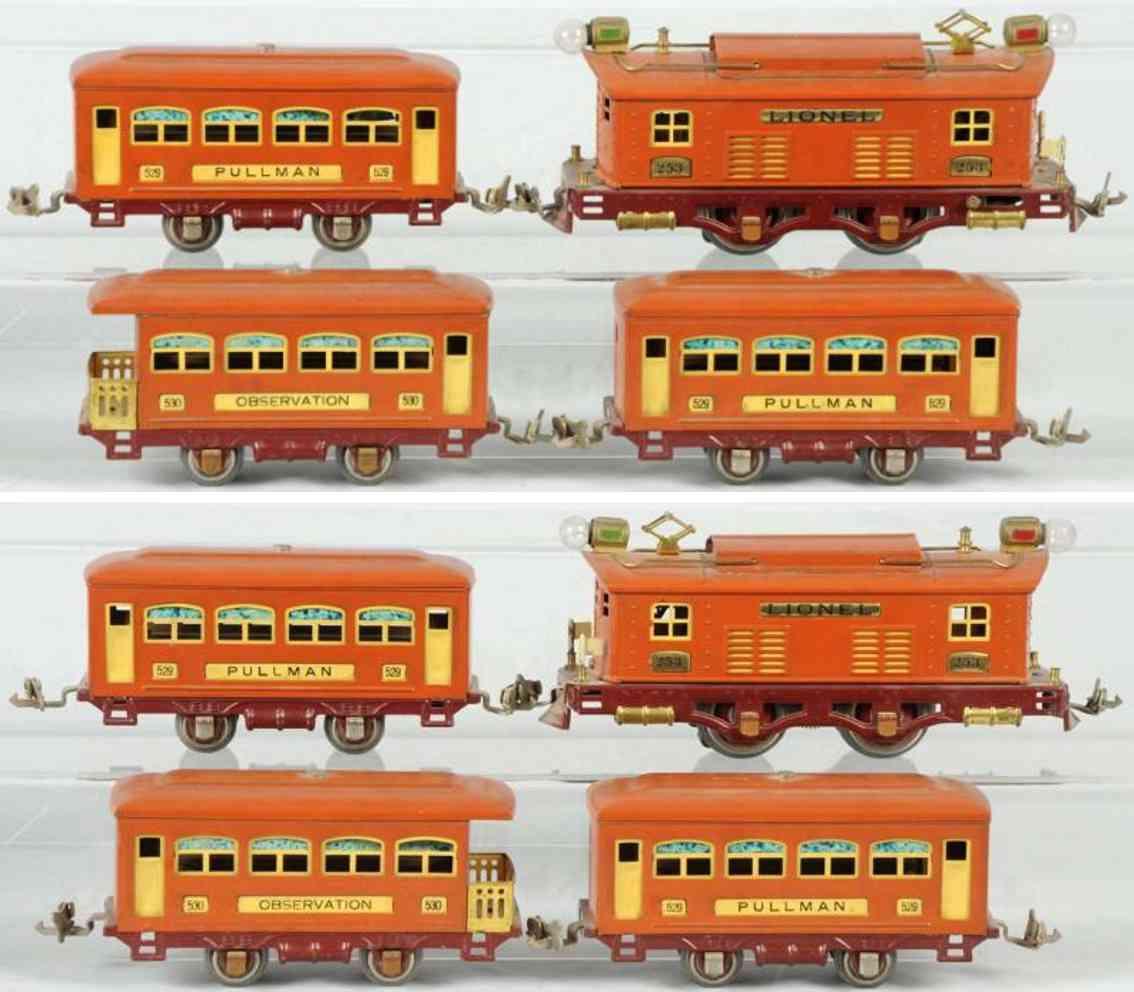 lionel 5005X 253 529 530 eisenbahn personenzug spur 0