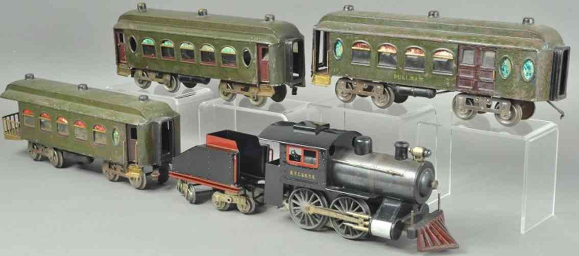 lionel 51 6T 18 19 190 personenzug lokomotive tender standard gauge