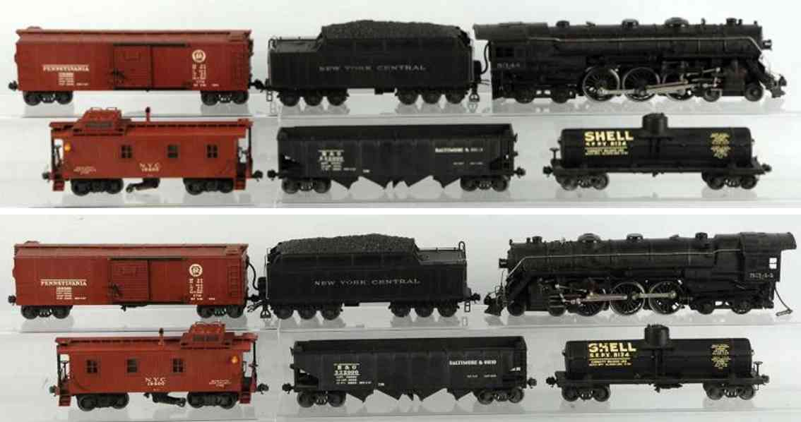 lionel 700e toy freight train set 5344 hudson engine gauge 0
