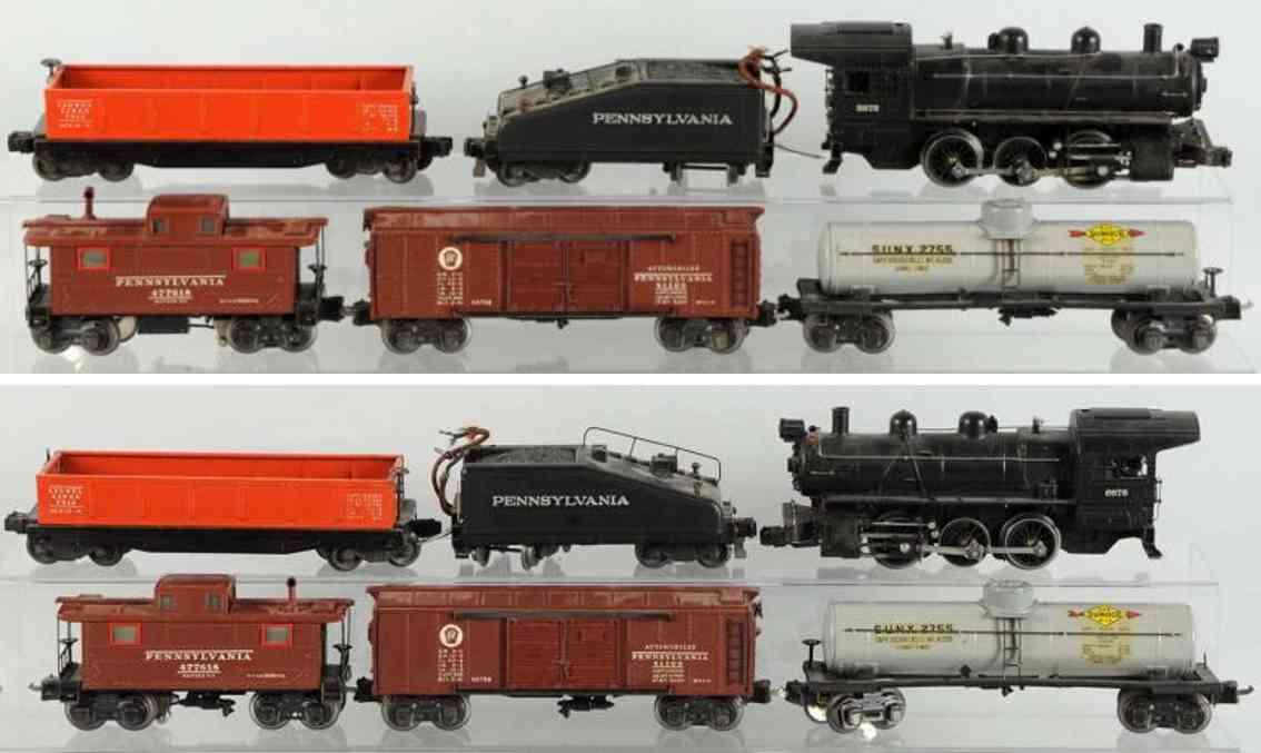 lionel 701 2227B 2812X 2755 semi-scale freight train set gauge 0