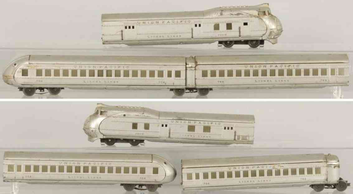 Lionel 752E Züge Personenzug The City of Portland 753 754