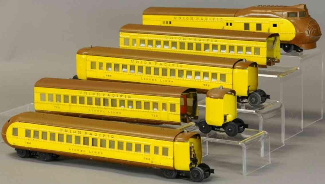 lionel 752w 753 754 personenzug spur 0