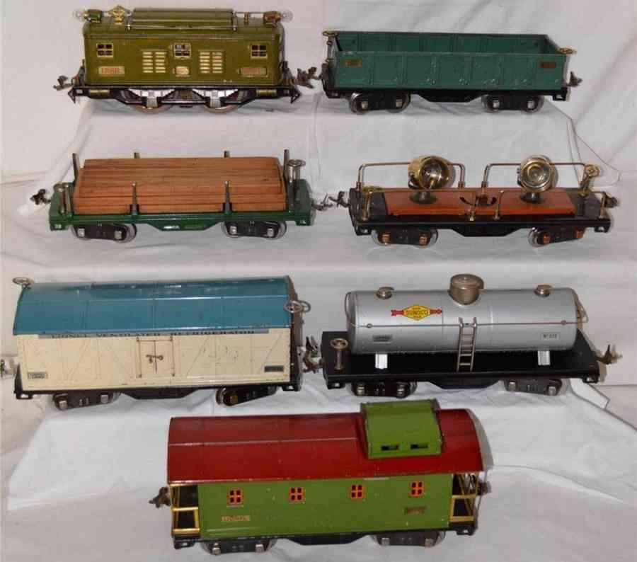 lionel 8e 514r 511 512 railway toy train train set