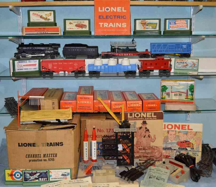 lionel 9745 railway toy train promotional set 243 113 3376 6112 6162