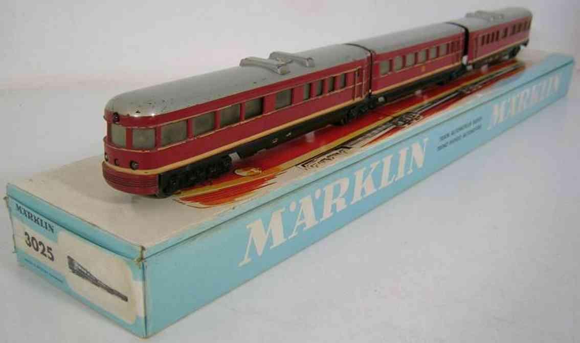 maerklin 3025 spielzeug eisenbahn lokomotive schnelltriebzug spur h0