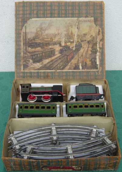 marklin 880/19/2 train set present package steam locomotive
