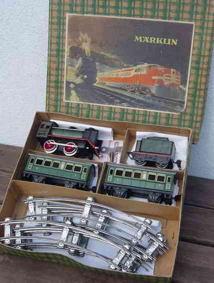 marklin 880/2 railway toy train set steam locomotive 880/2 889/0 1723/0