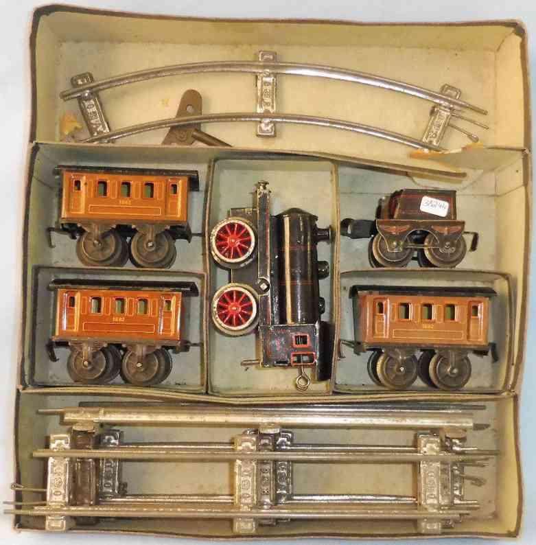 maerklin 980 spielzeug eisenbahn zug tischeisenbahn lok tender drei wagen