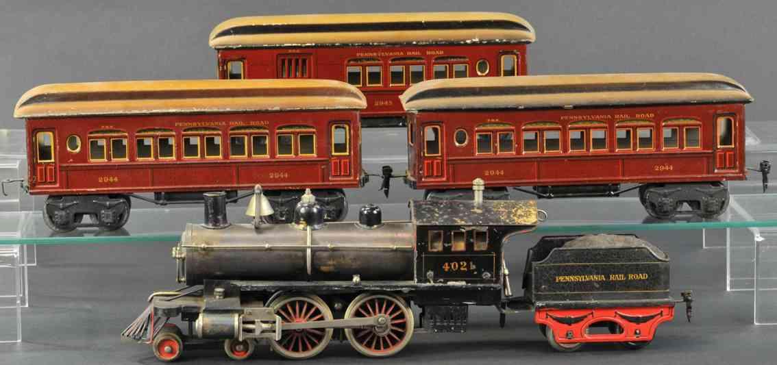 marklin maerklin ae 4021 2944 2945 railway toy pennsylvania rail road passenger set gauge 1