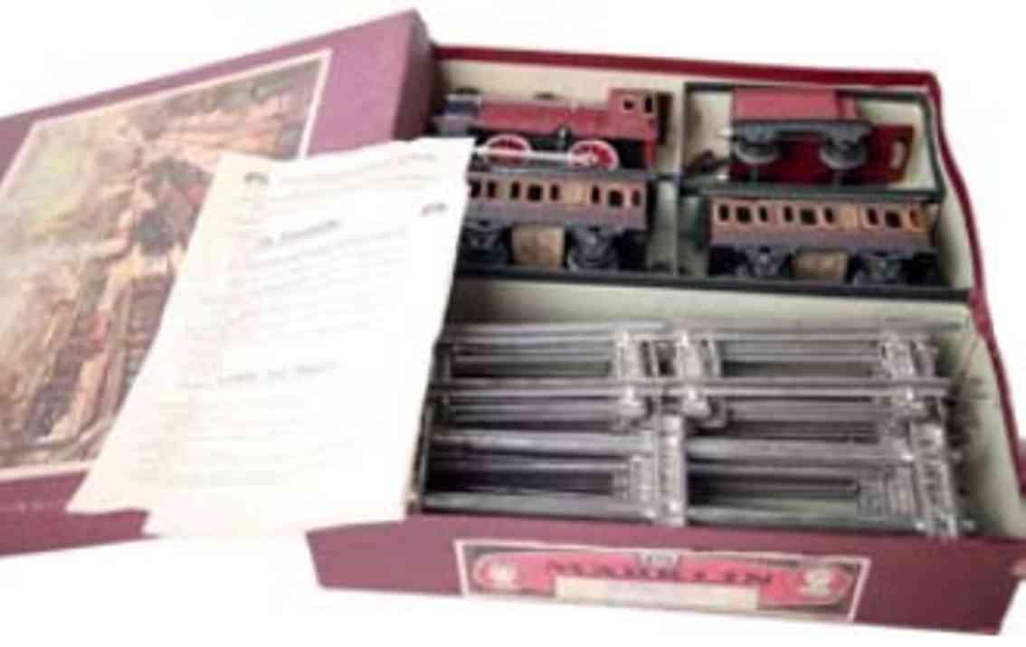 marklin maerklin r 970/72/2 railway toy english train package