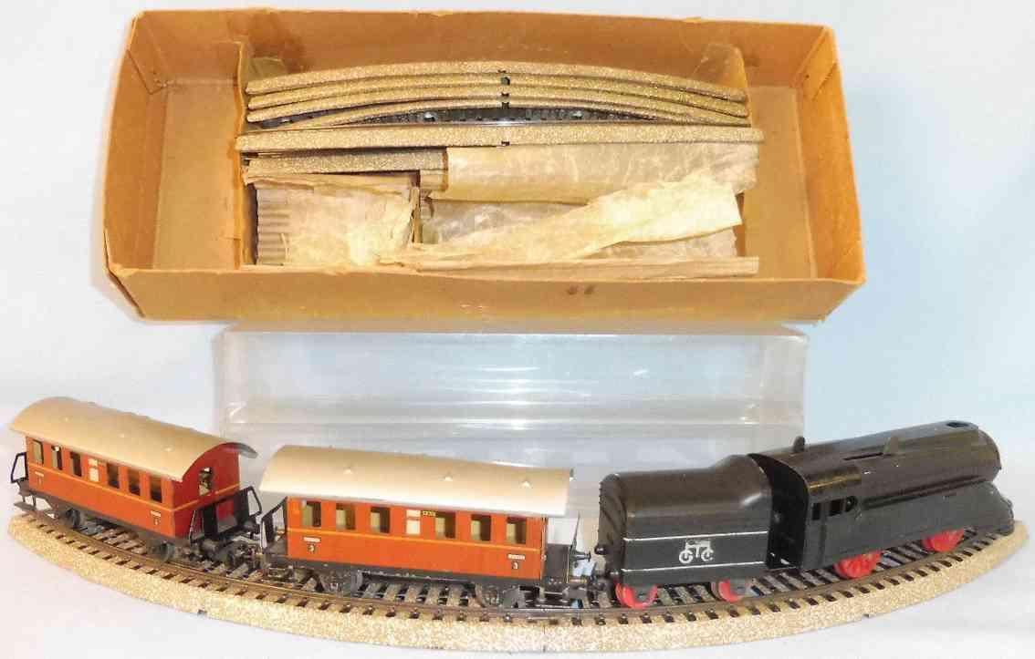 maerklin S 870 zugpackung schlepptenderlokomotive dritte klasse wagen spur h0