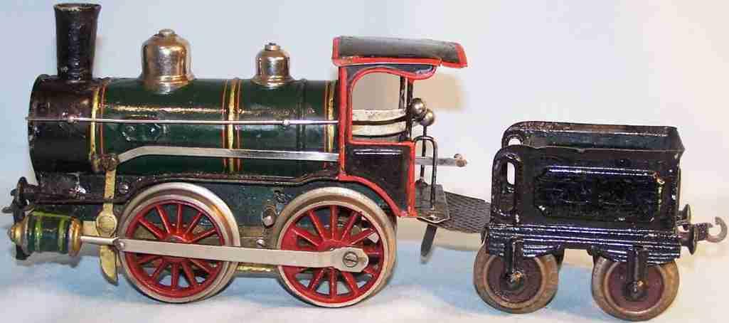 maerklin spielzeug eisenbahn zug uhrwerklokomotive mit tender