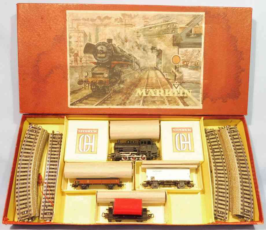 marklin cm 805/3 railway toy train set loco 89055 gauge h0