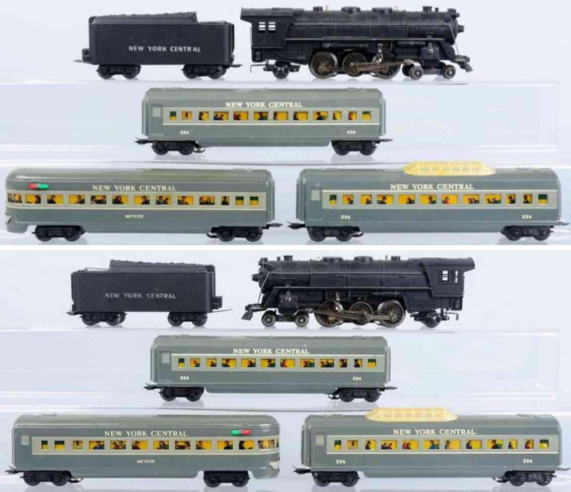 marx louis 234 spielzeug eisenbahn zugpackung elektrischer personenzug