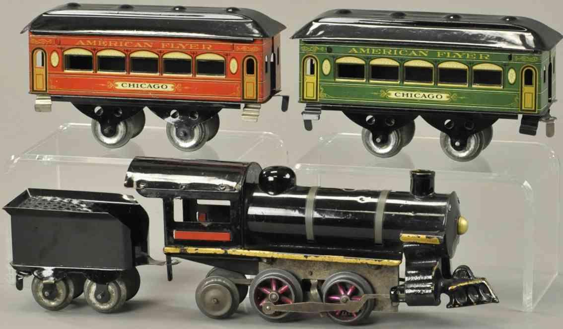 edmonds metzel manufacturing co spielzeug eisenbahn personenzug chicago