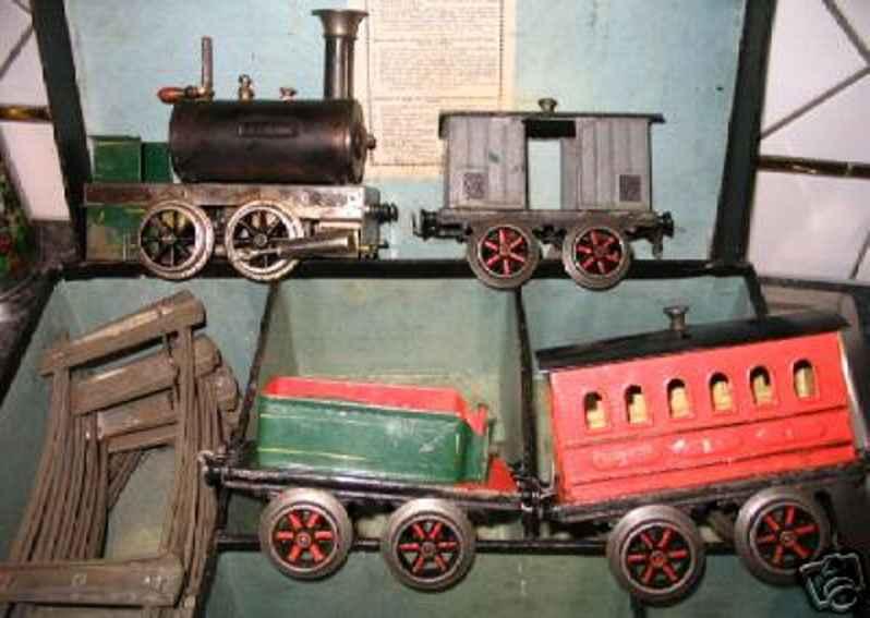 plank ernst eisenbahn zug dampflokomotive tender spur 3