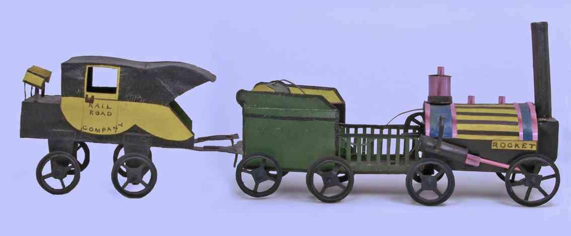 railway toy train goethe's rocket