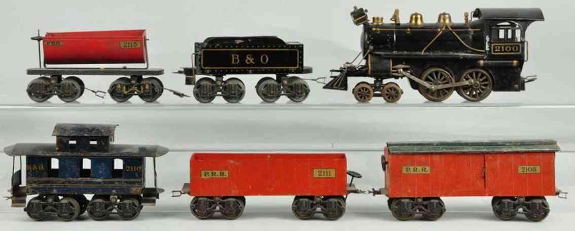 voltamp 2100 gueterzug spurweite 51 mm 440 2115 2211 2108 standard gauge