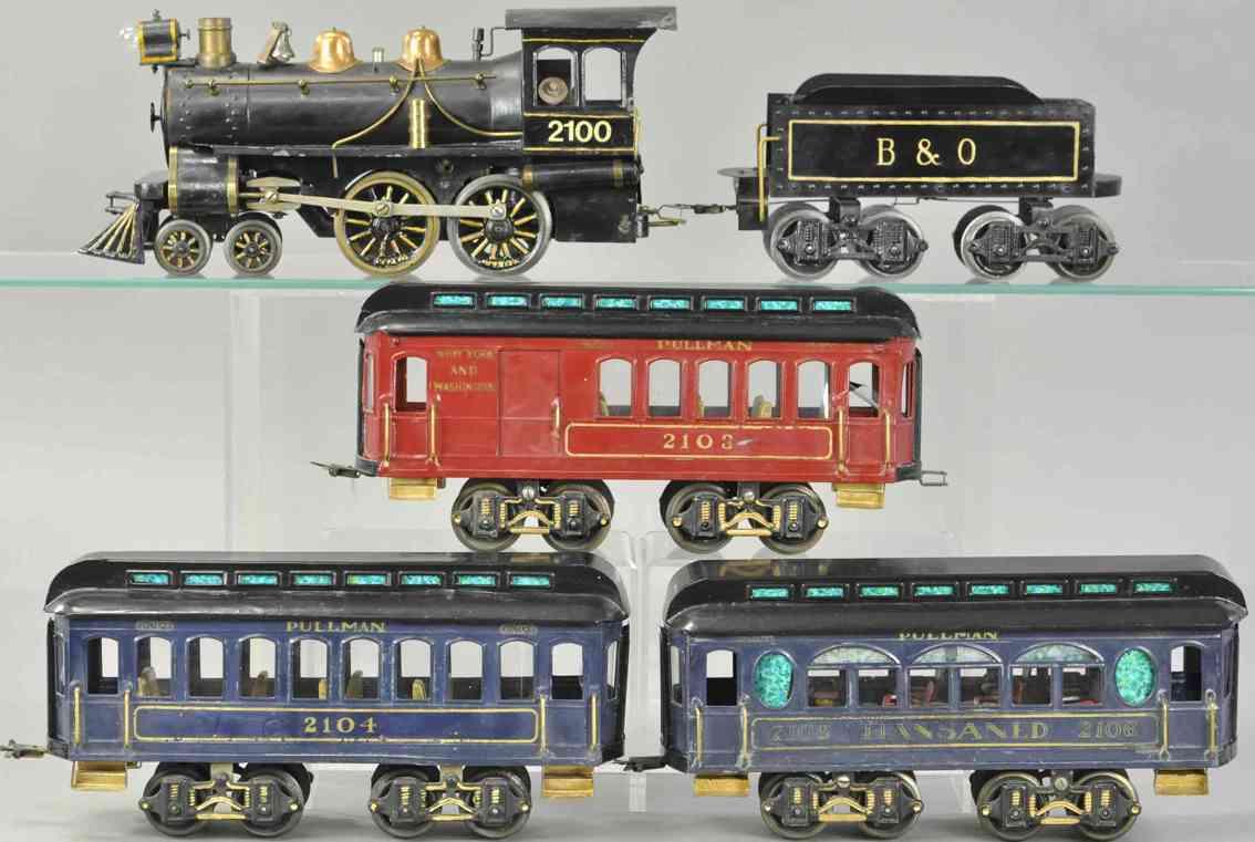 voltamp 2100 2103 2104 2106 personenzug lok tender schlafwagen standard gauge