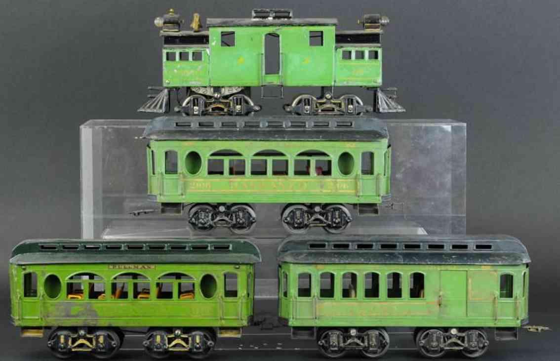 voltamp lok 2210 personenwagen 2103 schlafwagen2106 vorort-personenzug