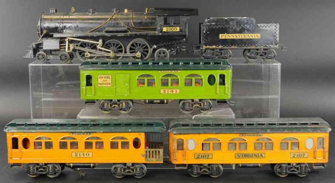 voltamp 2500 2107 2141 2140 spielzeug eisenbahn personenzug