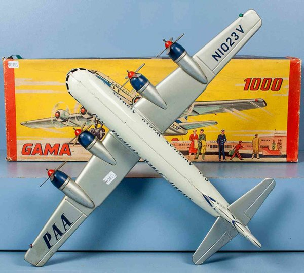 GAMA Flugzeuge STRATO Clipper der PAN AMERICAN WORLD AIRWAYS, Immatrikula