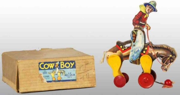 All-Fair Figuren Wowboy Holz mit Papieretikett