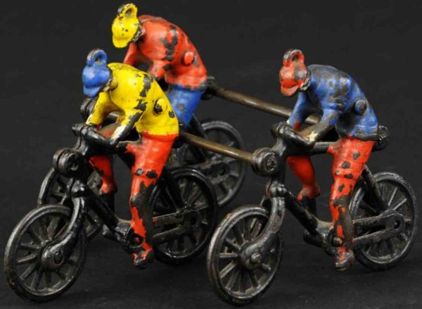 Ideal Toy Figuren 3 bicycles