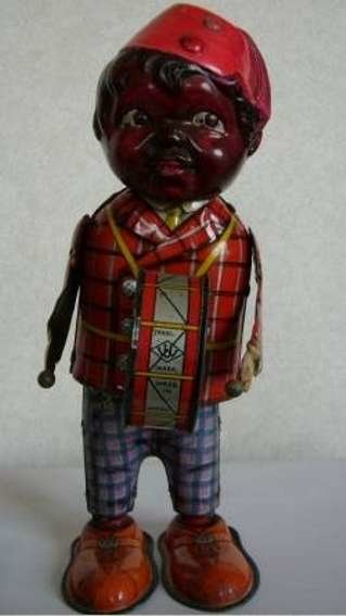 Marx Figuren boy black drum