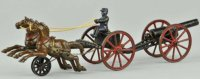Kenton Hardware Co Kutschen caisson 2 horses