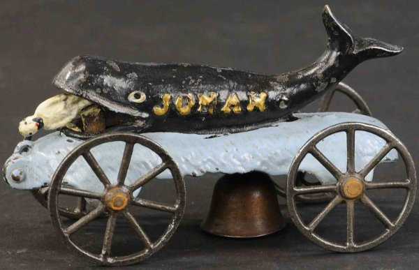N.N. Hill Brass Co Figuren Jonah whale 6