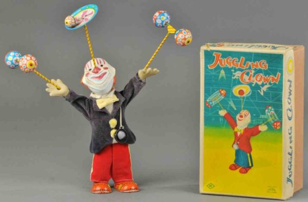 Alps Clowns Juggling clown 7,5