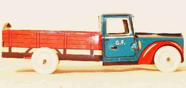Fischer Georg Penny Toy Lastwagen 10