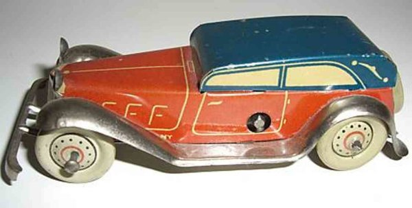 Fischer Georg Penny Toy Limousine 9
