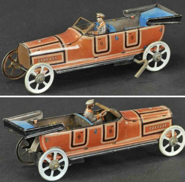 Fischer Georg Penny Toy Limousine offen 14,5