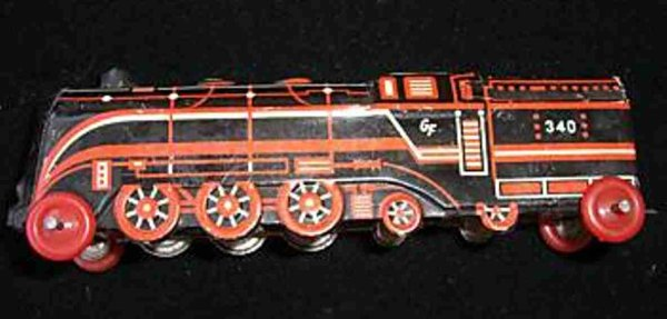 Fischer Georg Penny Toy Lokomotive 12
