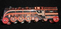 Fischer Georg Penny Toy Lokomotive, gemarkt Made in...