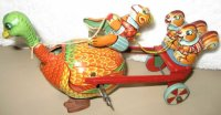 TPS Figuren Monkey riding turkey