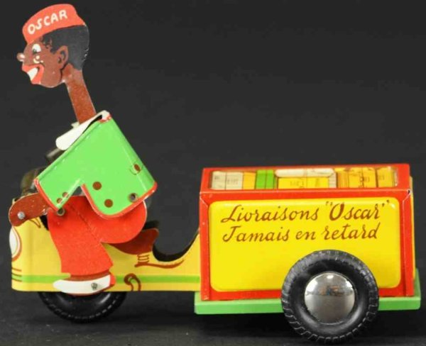 Figuren Oscar riding cart