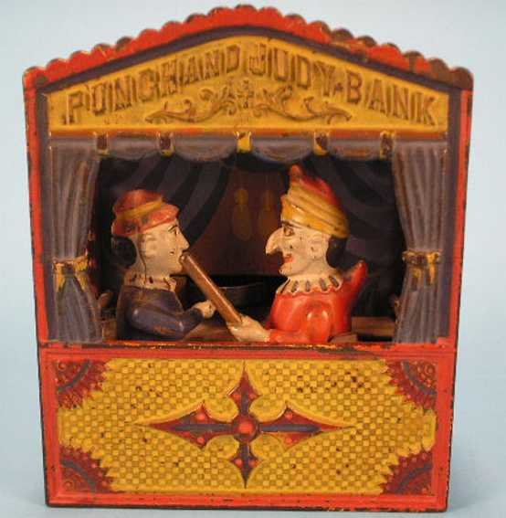 Shepard Hardware Co. Spardosen Punch and Judy