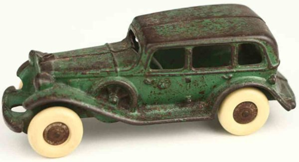 Williams AC Fahrzeuge-Oldtimer Sedan green (6,5)