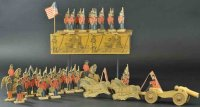 Reed Toy Co. Figuren Set aus Soldatenfiguren, gestempelte...