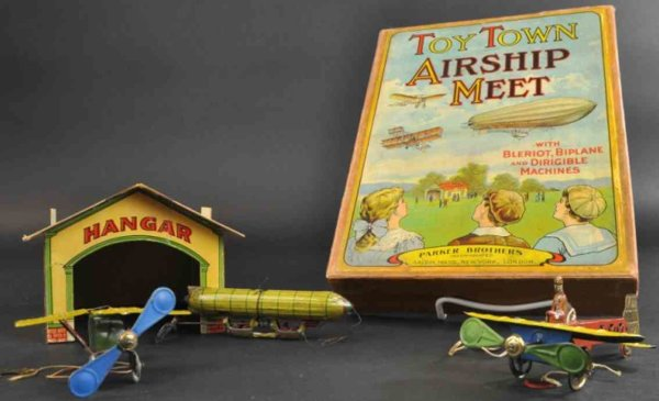 Parker Brothers Penny Toy Town airship