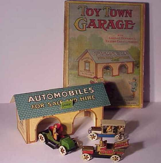 Parker Brothers Penny Toy Town garage
