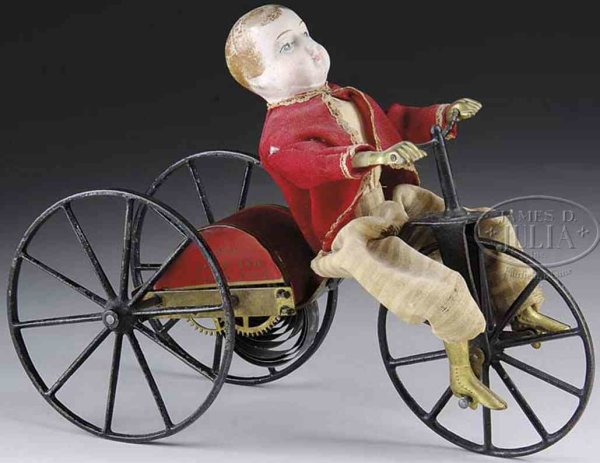 Althof Bergmann & C0 Figuren Tricycle boy