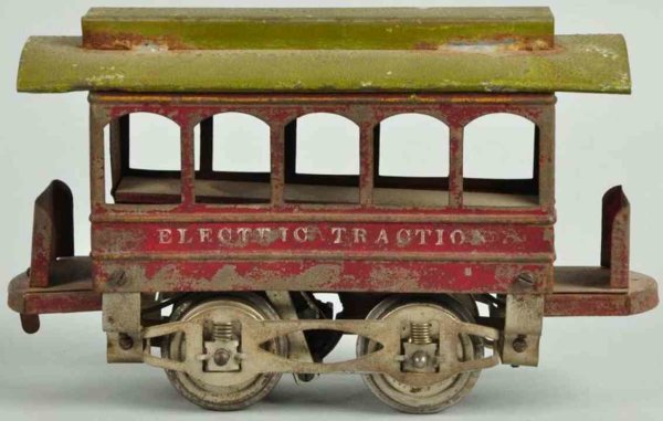 Knapp Electric and Novelty Company Straßenbahnen Trolley