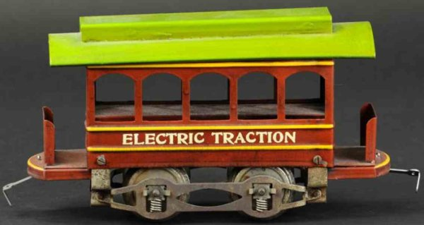 Knapp Electric and Novelty Company Straßenbahnen Trolley car 9,5