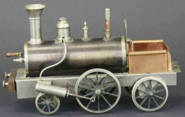 Stevens & Brown Lokomotiven Dragon Spiritusdampflokomotive aus Messing und vernickeltm B