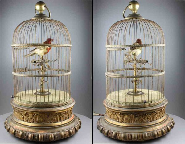 Phalibois Automaten Singing bird cage